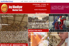Outsourcing web promotion, Biomass Briquettes