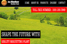 Outsourcing web promotion, Biomass Briquetting Plant