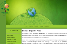 Outsourcing web promotion, Biomass Briquettes Press