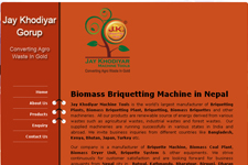 Outsourcing web promotion, Biomass Briquetting Machine Manufacturer