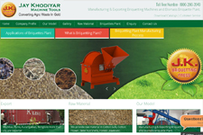 Outsourcing web promotion, Briquettes Plant