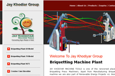 Outsourcing web promotion, Briquetting Machine Plant