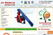 Outsourcing web promotion, Briquetting Plant