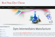 Outsourcing web promotion, Dyes Intermediates
