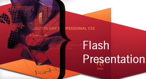 Flash animation presentation